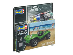 REVELL 67682 Modellbausatz VW Buggy mit Basisfarben 1:32, ab 10 Jahre