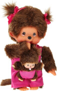 Monchhichi Mother Care Pink Girl, ca. 20 cm