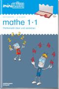 miniLÜK: Mathe 1x1, Lernheft, 24 Seiten, von 7 - 9 Jahren