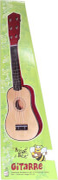 Boogie Bee Holzgitarre mit 6 Saiten, 55 cm