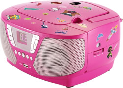 Tragbares CD/Radio - Kids pink NEU