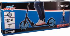 New Sports Scooter Blau/Schwarz, 200 mm, ABEC 7