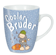 NICI Tasse Cooler Bruder Porzellan, ca. 10x9 cm