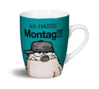 NICI Tasse Ich HASSE Montag!!! Porzellan, 10x9 cm